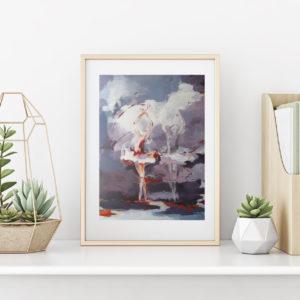 Konsttryck av målningar