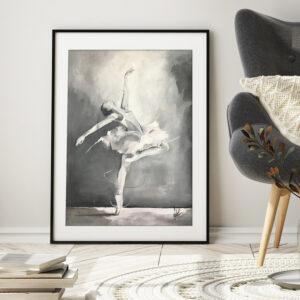 Konsttryck dansmotiv